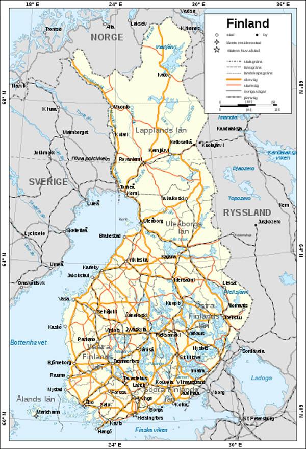finlands karta VSB avtalet Vänskaps , samarbets  och biståndsavtalet finlands karta
